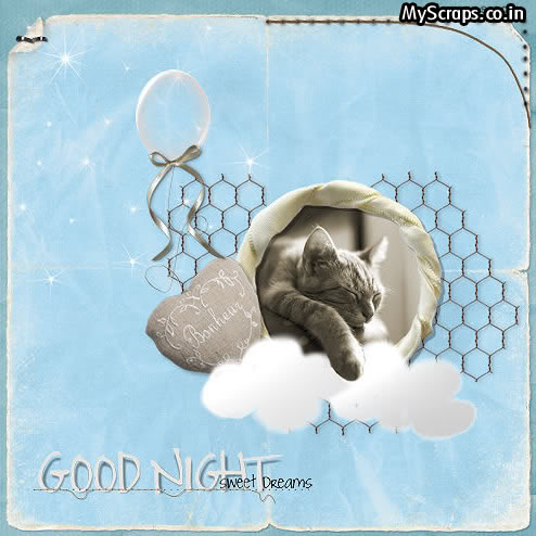Click for more 'Good Night' scraps!